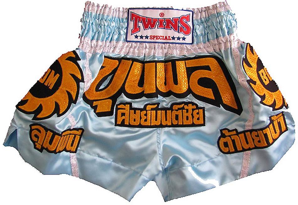 "TWINS Muay Thai Short, ""Thai"", Satin, kurz"