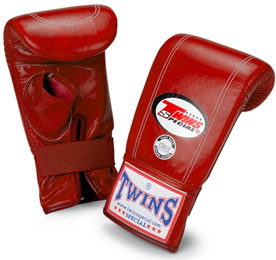"TWINS Sandsack / Trainings-Handschuhe , ""Standard"", Gummizug, Leder"
