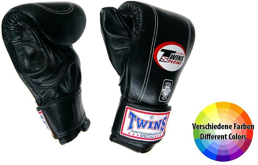 "TWINS Sandsack / Trainings-Handschuhe , ""Standard"", Klettverschluss, Leder"