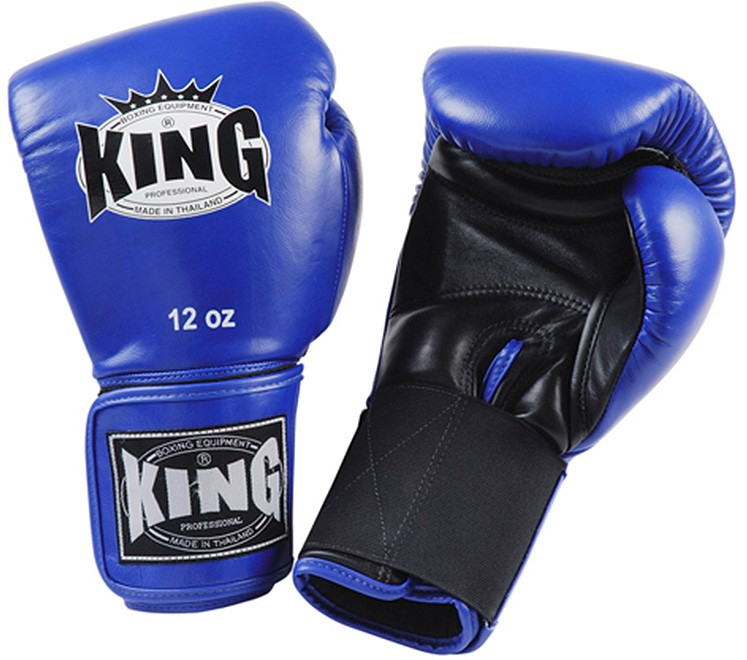 "KING Boxhandschuhe, ""Standard"", Klettverschluss, Leder"