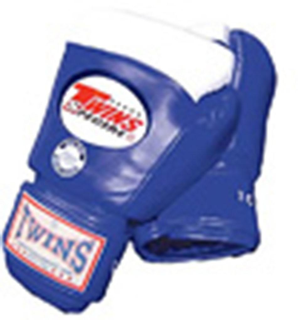 """TWINS Wettkampf Boxhandschuhe, """"Standard"""", Amateur-Wettkampf-Eignung, Klettverschluss, Leder"""