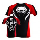 "Venum ""Electron 2.0"" Rashguard - Schwarz - Short Sleeves"