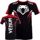 """Venum """"Shockwave 2"""" T-shirt - Schwarz/Rot"""