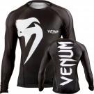 "Venum ""Giant"" rashguard - Schwarz - Long sleeves"