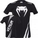 """Venum """"Challenger"""" T-shirt - Schwarz/Eis"""