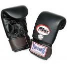 "TWINS Sandsack / Trainings-Handschuhe , ""Standard"", doppelte-Polsterung, Klettverschluss, Leder"