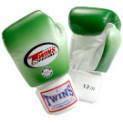 "TWINS Boxhandschuhe, ""Farb-Verlauf"", Klettverschluss, Leder"