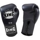 "KING Boxhandschuhe , ""Standard"", Schnürung, Leder"