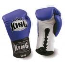 "KING Boxhandschuhe, ""Standard"", Schnürung, Leder"