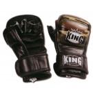 """KING MMA Handschuhe, """"Standard"""", Klettverschluss, Leder"""