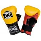 """KING Sandsack / Trainings-Handschuhe, """"Standard"""", Klettverschluss, Leder"""