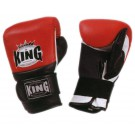 """KING Sandsack / Trainings-Handschuhe Air, """"Standard"""", Klettverschluss, Leder"""