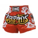 "KING Muay Thai Short, ""Standard"", Satin, kurz"