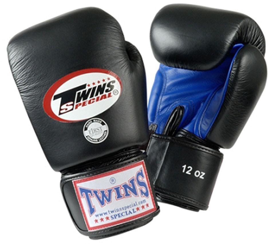 TWINS gants de boxe, velcro, cuir