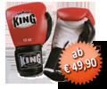 KING Boxhandschuhe, Klettverschluss, aus Leder