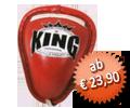 TWINS Tiefschutz, rot, mit Schnürung, hard shell