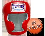 TWINS Kopfschutz, Klettverschluss, Leder