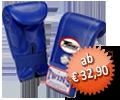 TWINS Sandsack / Trainings-Handschuhe, Gummizug, Leder